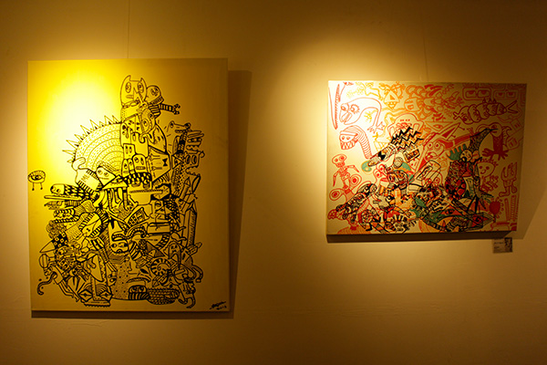 Pameran Seni Hope For Dsylexiart