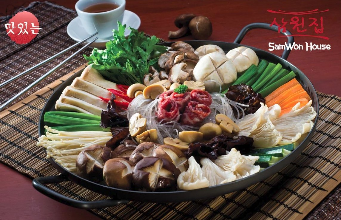 Samwon House : The Supreme Korean Cuisine