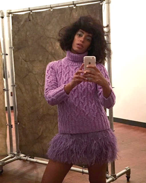 Solange Knowles : The Quirky Retro Lady