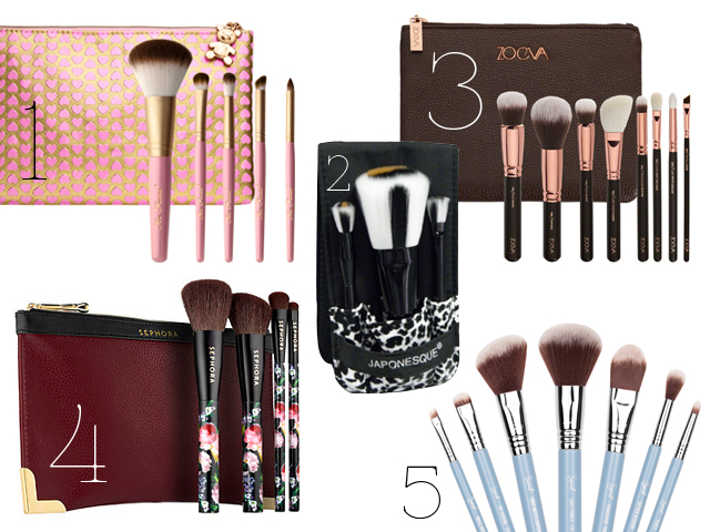 5 Makeup Brush Set Paling Memikat