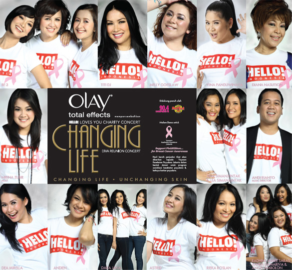 Hello! Loves You Charity Concert | cosmopolitan.co.id