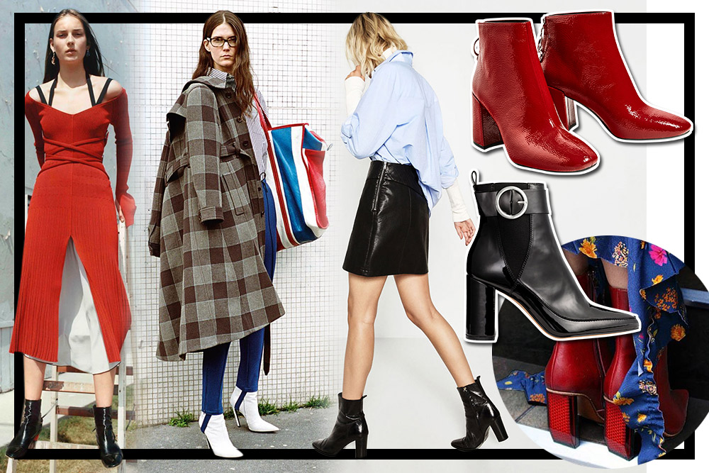 Tampil Stylish Dengan Ankle Boots