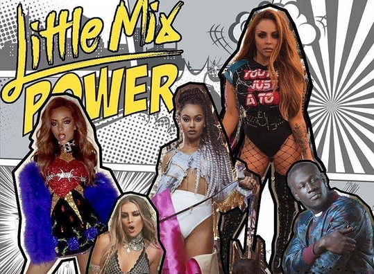 "Little Mix Tampil Hot di Video Musik ""Power"""