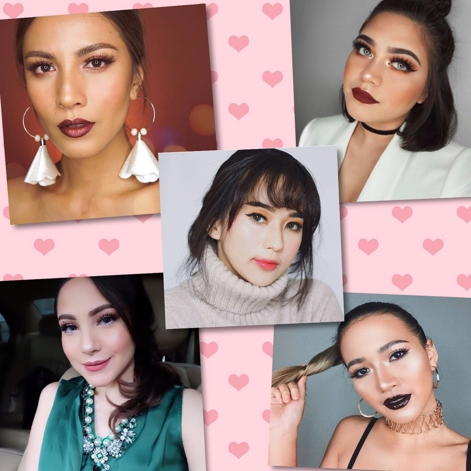 5 Inspirasi Makeup Ala Beauty Blogger Indonesia