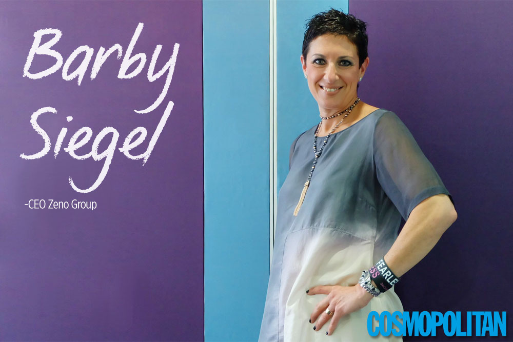 Belajar Fearless dari CEO Zeno, Barby Siegel (part 1)