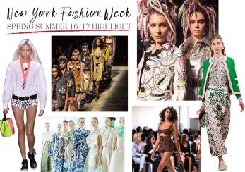 New York Fashion Week Spring/Summer 2017 Highlights