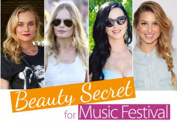 Beauty Secret for Music Festival
