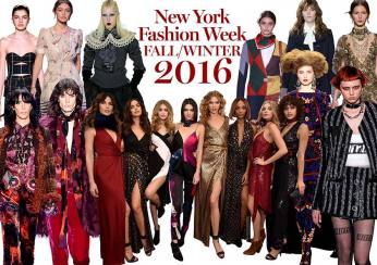 New York Fashion Week Fall / Winter 2016
