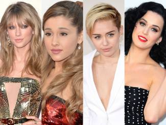 The Best Beauty Looks at AMAs 2013