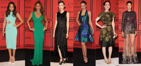 Best Dressed at CFDA Awards 2013