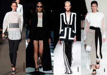 What to Wear: Monochrome Alert!
