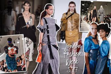 London Fashion Week Spring/Summer 2017 Highlights