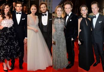 BAFTA Awards 2015 Best Dressed Couple