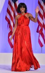 Stunning Michelle Obama at Inauguration 2013