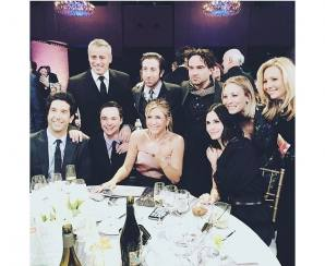 Reuni Pemain Serial TV Friends dan The Big Bang Theory