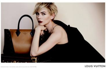 Michelle Williams Wajah Baru Tas Louis Vuitton