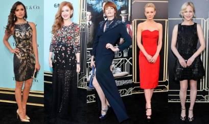 Best Dressed Celebrities At Great Gatsby Premiere