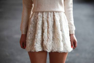 Embossed Effect Dress