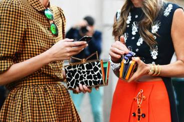 What to Wear: Statement Clutch