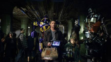 Real Steel : Robot Has a Heart!