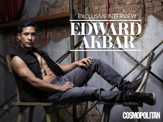 The Hot and Honest Side of Edward Akbar