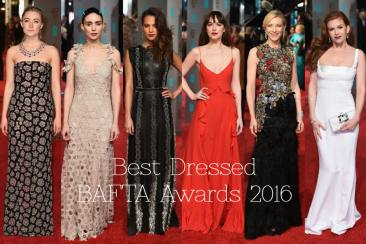 Best Dressed at BAFTA Awards 2016