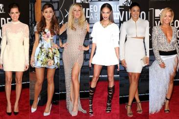 Best Dressed Celebrities At MTV Video Music Awards 2013