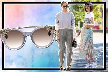 Modis dengan Sunglasses Jimmy Choo