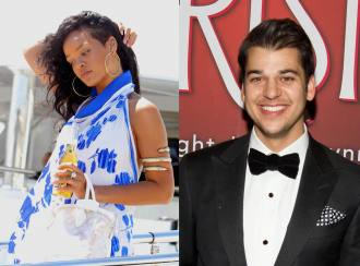 Rihanna Dating Rob Kardashian