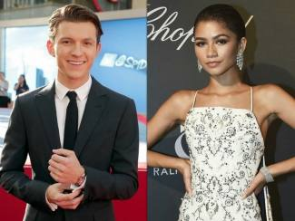 Cinlok Spiderman, Tom Holland & Zendaya Jadian