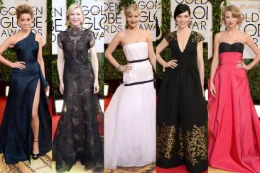 Best Dressed at Golden Globe Awards 2014