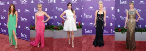 Best Dressed at Academy of Country Music Awards 2013
