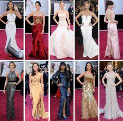 Best Dressed at Academy Awards 2013