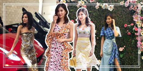8 Gaya Stylish Aktris Crazy Rich Asians, Gemma Chan