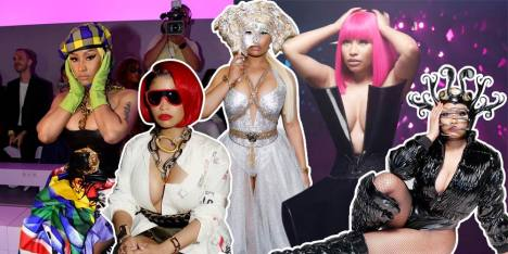 Lihat Aksi Nyentrik dari The Queen of Rap, Nicki Minaj!