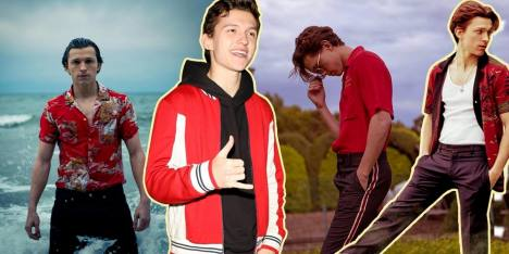 Boy Crush! 10 Gaya Tom Holland Ini Bikin Kamu Melting