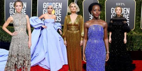 19 Gaya Selebriti di Red Carpet Golden Globes 2019