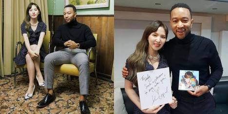 John Legend Rilis Single Bersama Wendy Red Velvet