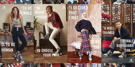 "Kampanye Baru Converse ""Love The Progress"""