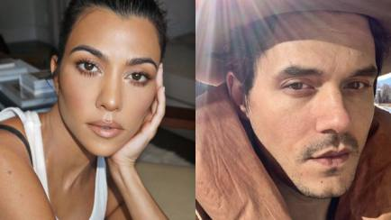 Kedekatan John Mayer dan Kourtney Kadarshian!