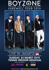 Boyzone Thank you and Good Night Farewell Tour 2019