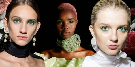 The Green Eye, Tren Makeup Spring/Summer 2019
