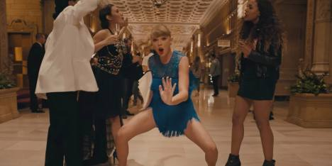 Taylor Swift Menari Heboh di Video Klip Terbaru!