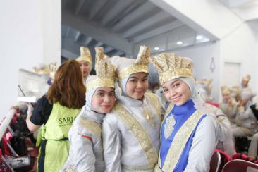 Ini Rahasia Makeup Kilat saat Opening Asian Games 2018