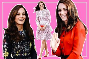 Gaya Office Look a la Kate Middleton