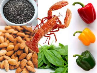 Food for Skin and Hair