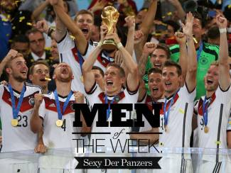 Men of The Week: Sexy Der Panzers