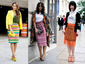 CHIC WITH COLOR BLOCK
