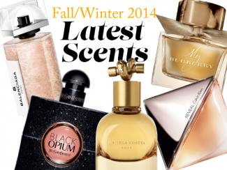 Fall/Winter 2014 Latest Scents