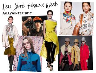 New York Fashion Week Fall/Winter 17 Highlight